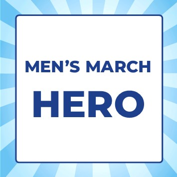 Men's March 2021 - Men's March Hero - Men's March Hero