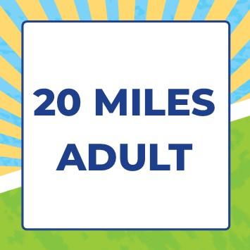 Mendip Challenge 2021 - 20 miles - 20 Mile Adult