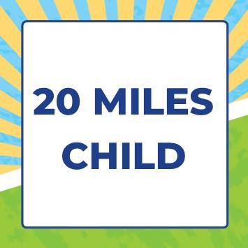 Mendip Challenge 2021 - 20 miles - 20 Mile Child