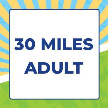 Mendip Challenge 2021 - 30 miles - 30 Mile Adult