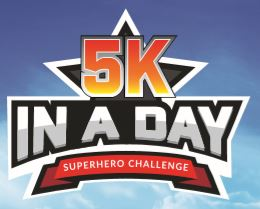 5k in a Day - Superhero Challenge - 5k in a Day - Superhero Challenge - Register your free place