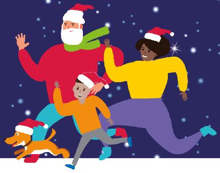Children's Air Ambulance Virtual Santa Fun Run - Children's Air Ambulance Virtual Santa Fun Run - Family Ticket
