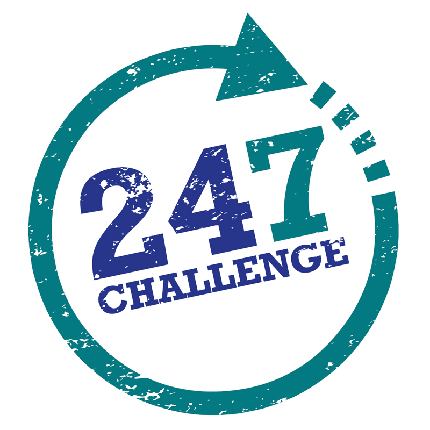 The 24/7  Challenge - The 24/7  Challenge - What will your challenge be?