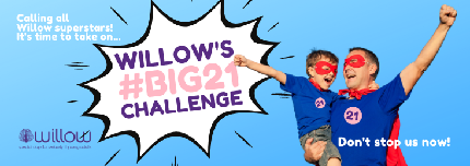 Willow's #Big21 Challenge - Willow's #Big21 Challenge - I accept Willow's #Big21 Challenge!