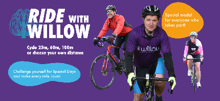 Ride with Willow - 25 miles - 25 miles entry fee