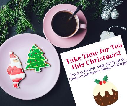Take Time for Tea at Christmas - Take Time for Tea at Christmas! - I want to host a Take Time for Tea at Christmas party!
