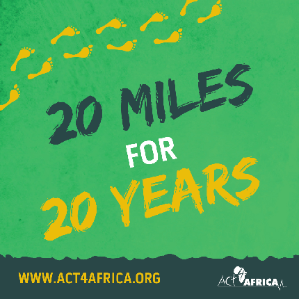 20 Miles for 20 Years - 20 Miles for 20 Years - Event