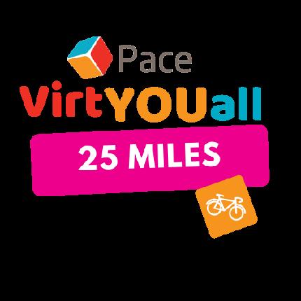 VirtYOUall Cycling Challenge - VirtYOUall Cycling Challenge - 25 Miles