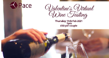 Pace's Valentine's Virtual Wine Tasting for Two  - Pace's Valentine's Virtual Wine Tasting for Two  - Valentine's Virtual Wine Tasting for Two