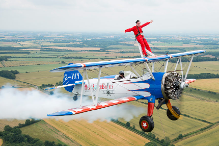 Pace Wing Walk Experience  - Wing Walk  - Wing Walk Space