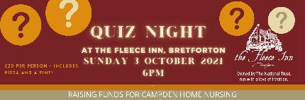 Quiz Night at The Fleece Inn (charity) - Quiz Night at The Fleece Inn - Table of 4