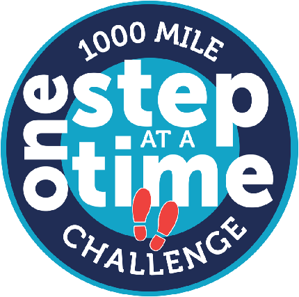 One Step at a Time - 1000 Mile Challenge - One Step at a Time - 1000 Mile Challenge - Registration Fee